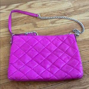 Kate spade hott purple quilted bag